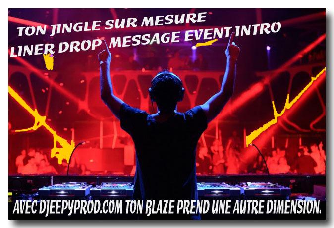 Jingles francais pour dj et webradio par djeepyprod com.