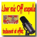 Liner acapella voix Off
