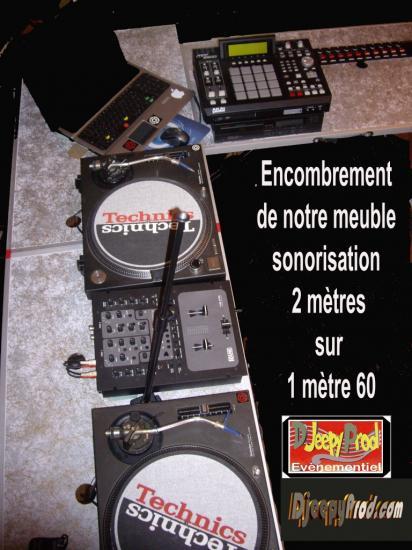 djeepyprod.com Sono encombrement