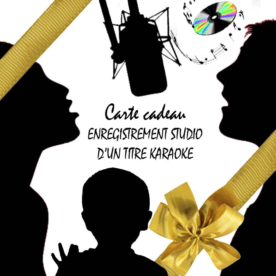 Carte cadeau karaoke