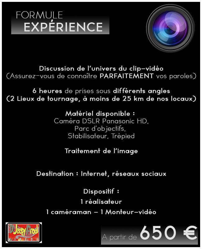 Djeepyprod video clip formule experience