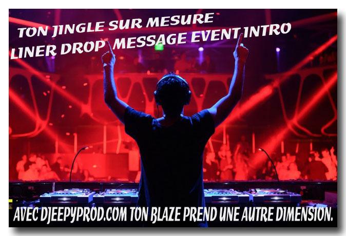 Jingles francais pour dj et webradio par djeepyprod com