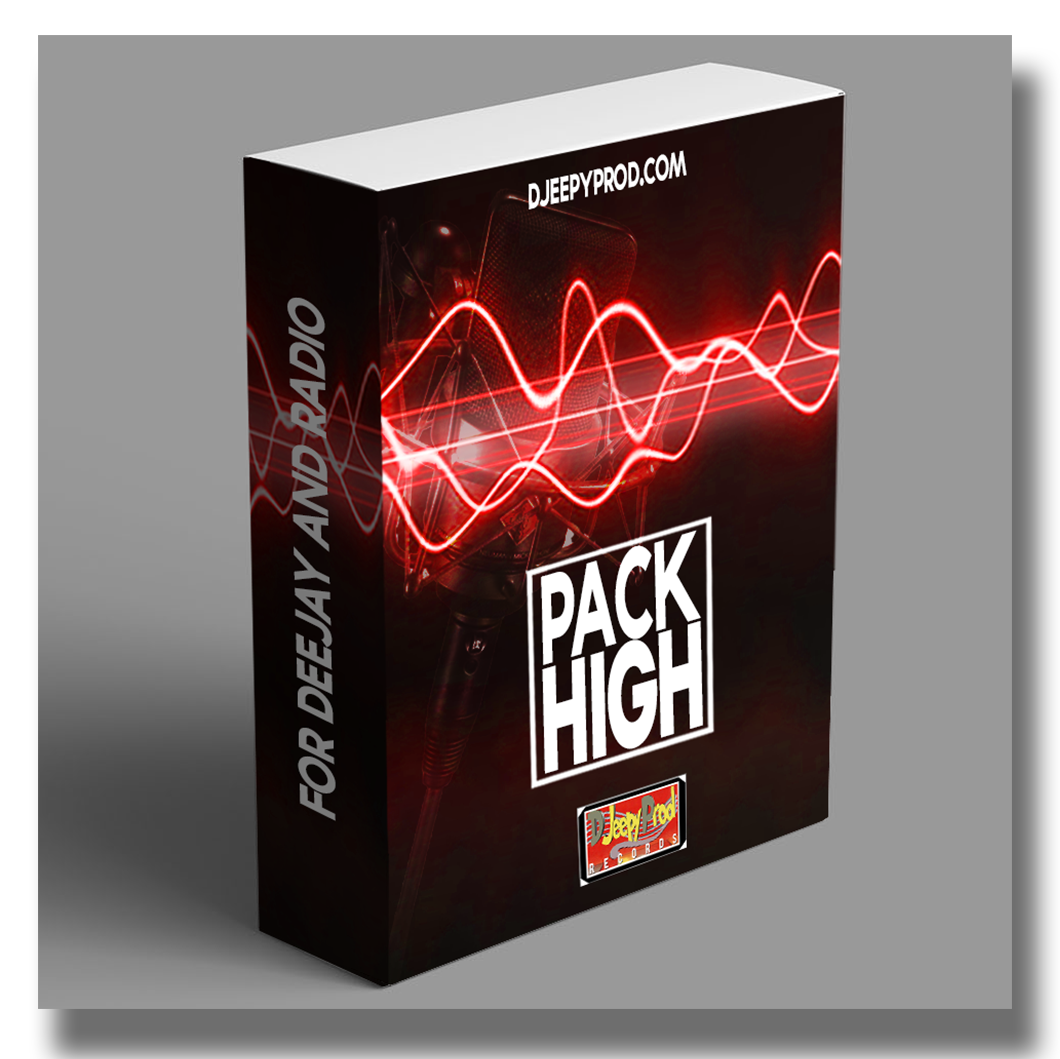 Pack jingle Radio personnalisé Pack High par DjeepyProd.com